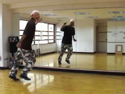 HOUSE  DANCE 基本コンビネーション