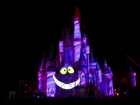 Celebrate The Magic Show - Magic Kingdom - Walt Disney World 2013 HD