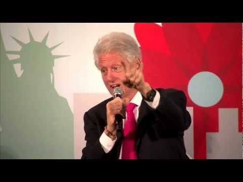 Bill Clinton Discusses Gun Control at the 2012 Sustainable Operations Summit