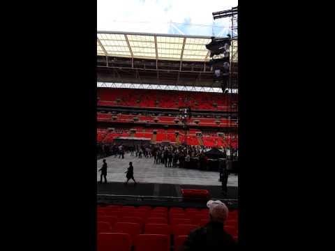 Wembley Stadium Block 123
