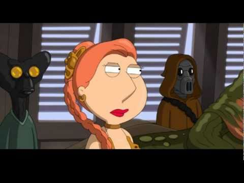 Family Guy Chris Peter And The Gang Nod In Star Wars