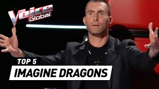 Download Lagu IMAGINE DRAGONS  in The Voice | The Voice Global Gratis STAFABAND