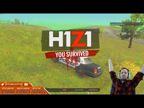 Flamehopper H1Z1 Royalty Win - Full Gameplay
