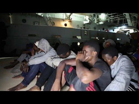 تنها در یک روز هزار پناهجوی آفریقایی در مدیترانه نجات یافتند…