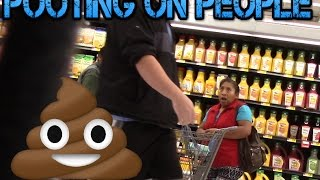 Pooting On People!! EP 2  Nasty Fart Prank! fart sounds Funny Videos!