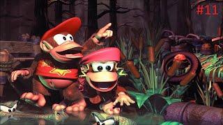 Guía 100% Donkey Kong Country 2 -  Squwaks's shaft
