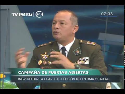Cuarteles del Ejército en Lima y Callao abre sus puertas al público