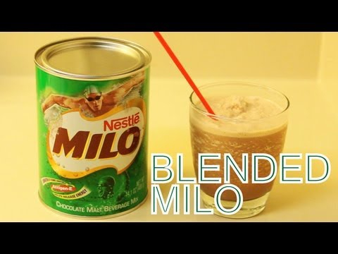 how to make milo milk