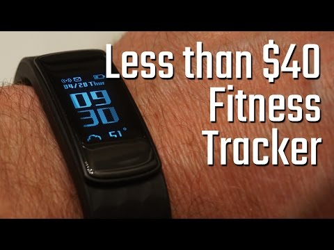Best Fitness tracker for under $40? Lintelek smart watch activity tracker review