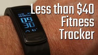 Best Fitness tracker for under $40? Lintelek smart watch activity tracker review