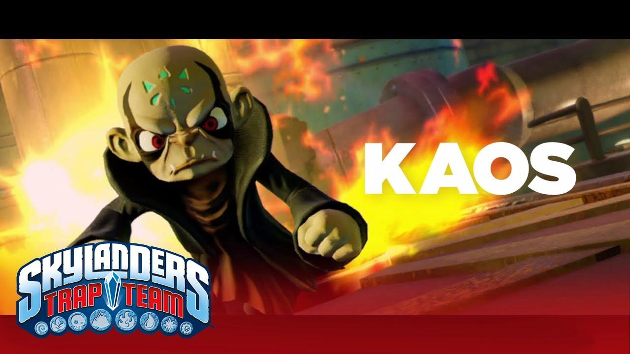 Skylanders trap team villains kaos