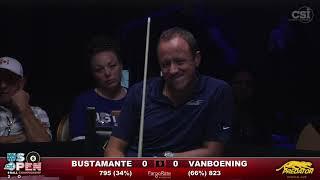 2016 US Open 8-Ball: Francisco Bustamante vs Shane Van Boening
