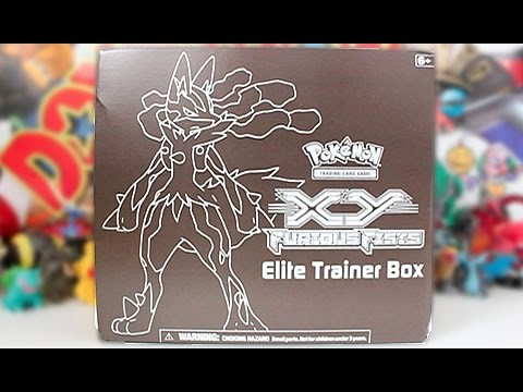 Opening A Pokemon XY Furious Fists Elite Trainer Box!