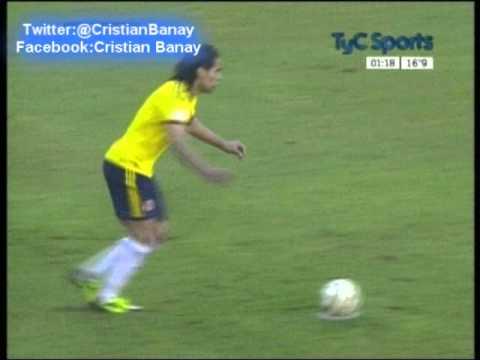 Colombia 2 Peru 0 (Relato Matias Palacios) Eliminatorias Brasil 2014 Los goles  (11/6/2013)