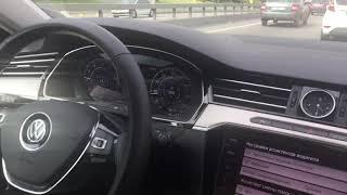 VW Arteon - Traffic Jam Assist activation