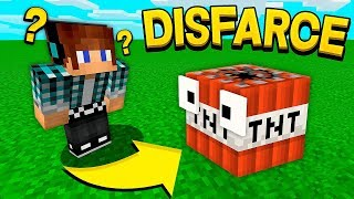 ESCONDE-ESCONDE COM DISFARCE DE TNT NO MINECRAFT !! - ( Minecraft Esconde-Esconde )