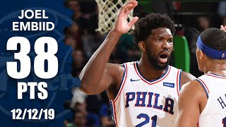 Joel Embiid scores 38 points in 76ers vs. Celtics | 2019-20 NBA Highlights