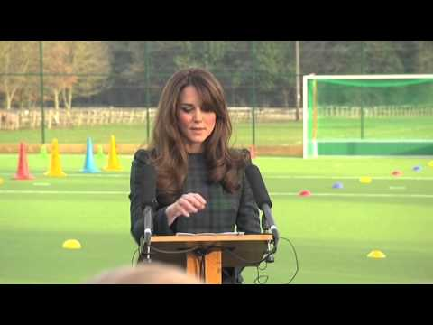 Kate Middleton St Andrew's School speech