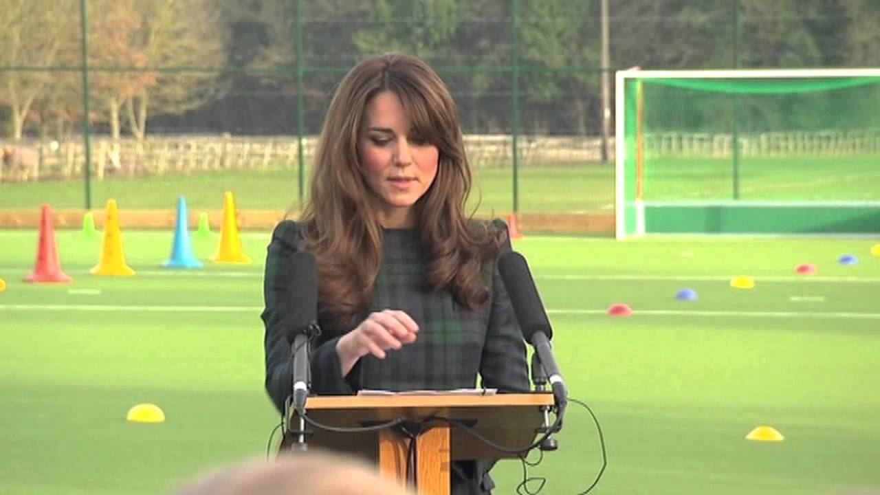 Kate Middleton St Andrew's School speech - YouTube