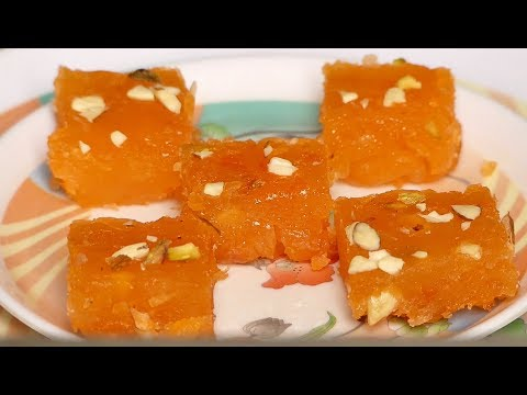 Bombay halwa recipe in kannada|Quick and Easy corn flour halwa|how to make bombay halwa
