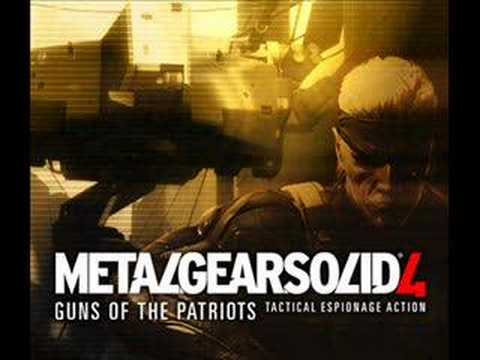 Metal Gear Solid 4 OST (Disc 2) Track 10 - Guns Of The Patriots