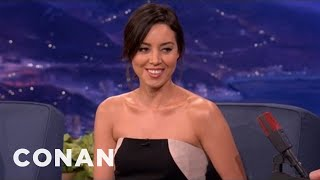 Aubrey Plaza Is A White House Thief - CONAN on TBS