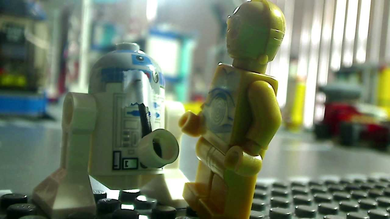 R2d2 And C3po Lego Lego Star Wars Remake - R2-D2