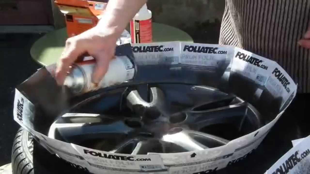 Foliatec spray anthracite metal ma premi re fois vraiment for Comment diluer de la peinture