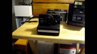Old film and Instant Polaroid Cameras