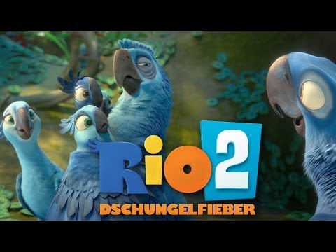RIO 2 Dschungelfieber Trailer 2 (neuer Trailer) Deutsch HD German