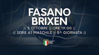 Serie A1M [5^]: Fasano - Brixen 32-34