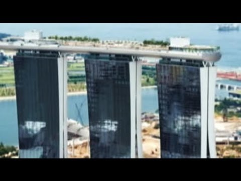 Exploring Singapore's Marina Bay Sands hotel