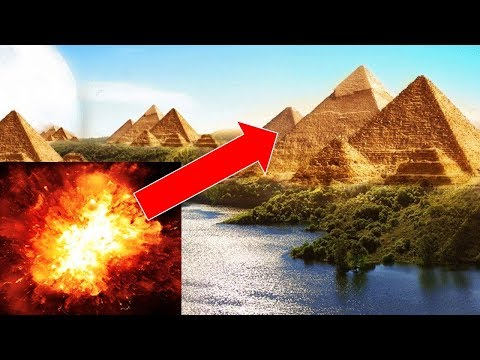 Destroyed Pyramid Found Buried in Egypt - Evidence of Massive Ancient Cataclysm - Egyptian Pyramids