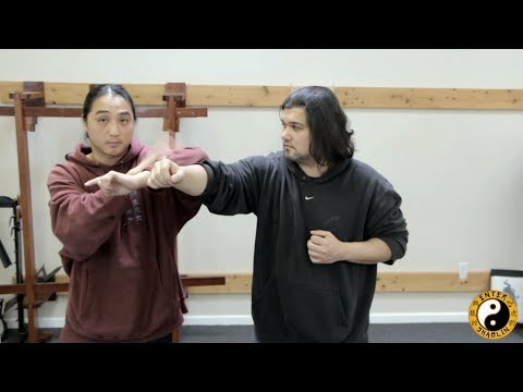 Wing Chun Mook Yan Jong - Complex Training Technique (Wooden Dummy Drill) Image 1