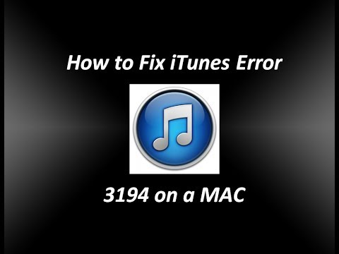 How to Fix iTunes Error 3194 on a Mac - This device isn't eligible for the requested build