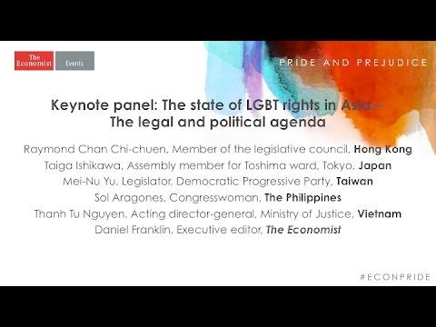HK-Keynote panel: The state of LGBT rights in Asia: the legal and political agenda