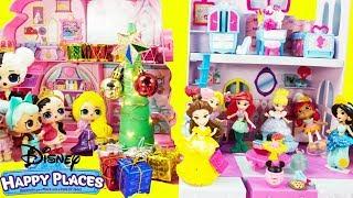 Disney Happy Places Townhouse LOL Surprise Christmas Party