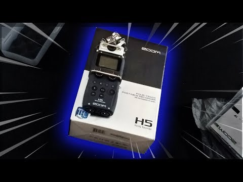 O Microfone profissional chegou! – ASMR Unboxing Zoom H5 Handy Recorder