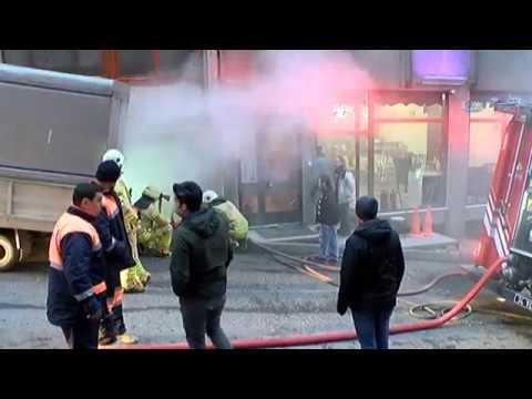 Çağlayan'da Mobilya Atölyesinde Yangın