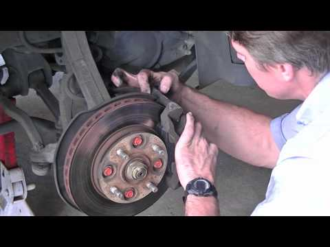 Brake Pad Replacement - 90 Honda Accord