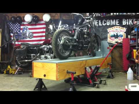 Motorcycle Table.