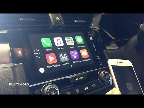2016 Honda Civic - Apple CarPlay & Android Auto demo