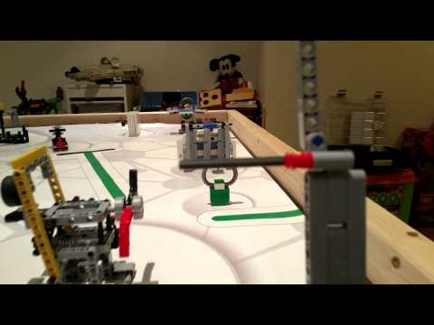 FLL World Class - First Person View From Our EV3 Robot