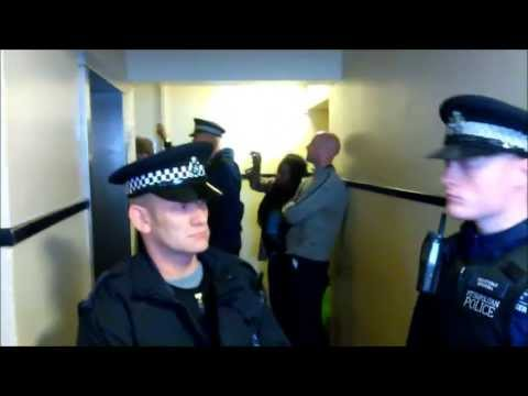 Metropolitan Police Without Jurisdiction Unlawful Eviction - Part II (Full Version)