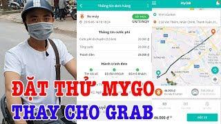 Đặt thử xe ôm MyGo của Viettel thay cho Grab và cái kết