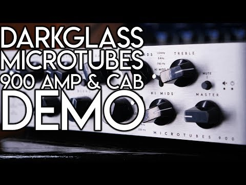 Ultimate Bass Rig:  Darkglass Microtubes 900 Amp & Cabinet    SpectreSoundStudios DEMO