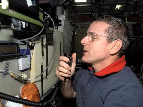 Amateur Radio w/ ISS Expedition 12