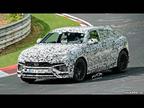 Lamborghini Urus Test Mule Spotted Testing On The Nürburgring!!