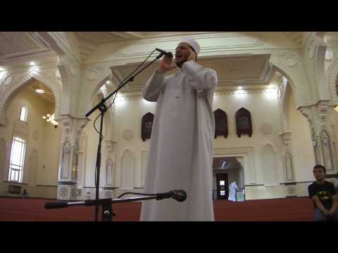 Best Athan In All Of Sharjah (bilal Al Hamwi) أذان الشيخ بلال علي الحموي video