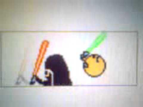 Дуэль на лазерных мечах